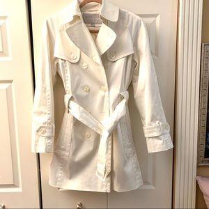 Jessica Simpson Gorgeous White Trench Coat